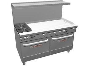 Southbend 4601dd 4g Ultimate 60 Range W 48 Griddle 2 Burners