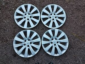 1 Set Of 4 New 2011 11 2012 12 2013 13 Corolla 16 Hubcaps Wheel Covers 61159