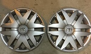Pair Of 2 61124 Toyota Sienna 16 Inch Hubcap Wheel Cover 2004 05 06 07 08 09 10