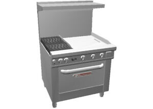 Southbend 4362a 2t Ultimate 36 Range W Wavy Grates 24 Therm Griddle
