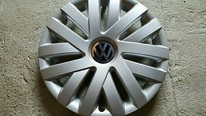 New 61559 16 Hubcap Wheelcover For 2010 2014 Vw Volkswagen Jetta Free Shipping