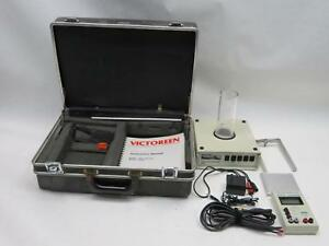 4000 Victoreen Xray Dose Kvp Time Test Meter Kit Fluke Radcal Unfors Keithley