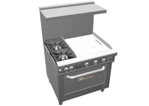 Southbend 4363d 2g Ultimate 36 Gas Star Burner Range W 24 Griddle
