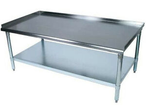 Bk Resources Vets 6030 Economy 30 X 60 Stainless Kitchen Equipment Stand