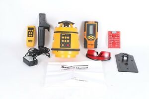 Northwest Nrl802 Self leveling Rotating Laser With Detector Kit Nrm800 40 6715