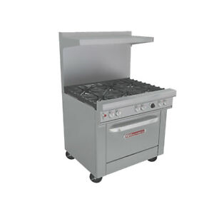 Southbend 4364c Ultimate 36 Range W 6 Burners Cabinet Base