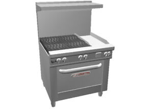 Southbend 4362d 1g Ultimate 36 Gas Range W 12 Griddle Std Oven