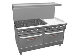 Southbend Ultimate 60 Large Burner Range 24 Therm Griddle 2 Oven