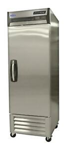 Nor lake Nlr23 s 23cuft Stainless Steel Single Door Reach In Refrigerator