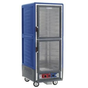 Metro C539 hdc 4 bu Full Height Heated Holding Cabinet W Fixed Wire Pan Slides