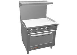 Southbend S36d 3g 36 Gas Restaurant Range With Standard Oven 36 Griddle