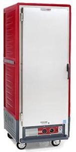 Metro C539 hfs l Full Height Insulated Holding Cabinet W Lip Load Pan Slides