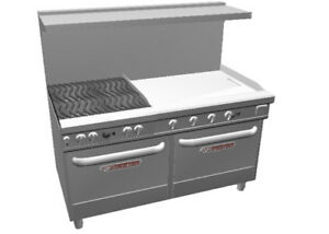 Southbend 4602dd 3t Ultimate 60 Range W 36 Griddle 4 Burners