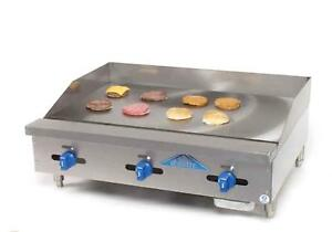 Comstock Castle Manual 36 Gas Flat Griddle Counter Value Series 28 Deep