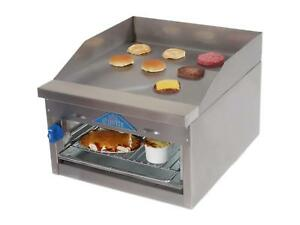 Comstock Castle Fhp24 24b 24in Wide Counter Top Griddle Broiler Cheesemelter