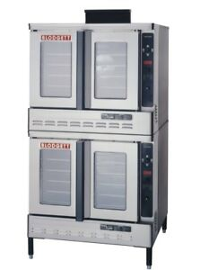 Blodgett Dfg 100 Dbl Full Size Dual Flow Double Deck Gas Convection Oven