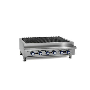 Imperial Range Irb 60 Countertop 60 Charbroiler Gas Broiler
