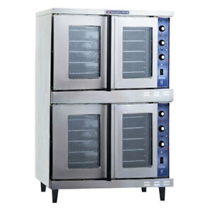 Bakers Pride Gdco g2 Cyclone Series Double Gas Convection Oven Lp