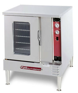 Southbend Eh 10cch Half Size Electric Convection Oven Cook Hold Std Depth