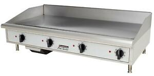 Toastmaster Tmge48 Countertop 48 Thermostatic Control Electric Griddle