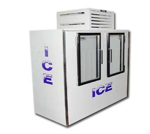 Fogel Icb 2 gl Indoor Ice Merchandiser Bagged Ice 60 Cu Ft Capacity