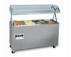 Vollrath 3872946 Affordable Portable 46 3 Well Hot Food Station 120v