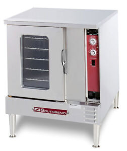 Southbend Gh 10cch Half Size Gas Convection Oven Std Depth W Cook Hold