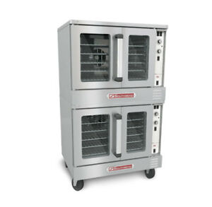 Southbend Sleb 20sc Silverstar Electric Dble Stack Convection Oven Bakery Depth