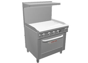 Southbend S36a 3t 36 S series Range Thermostatic Griddle Conveciton Oven