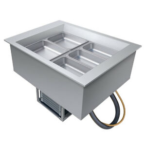 Hatco Cwb 2 Drop in Refrigerated Well W 2 Pan Size Top Mount