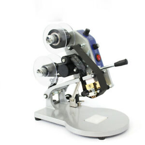 New Dy 8 Manual Hand Operated Hot Stamp Printer Coding Machine 100w 220v