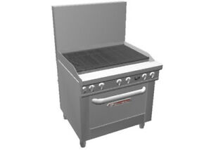 Southbend 436d 3c Ultimate Series Range 36 Charbroiler W Std Oven Base