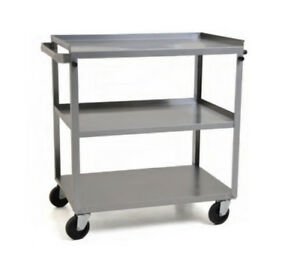 Eagle Group Uc 322 3 tier 19 wx31 dx32 h Stainless Steel Utility Cart