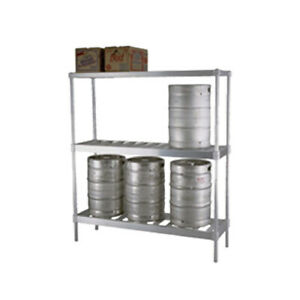 Eagle Group Kr1880a x Panco 80 w X 18 d X 76 h 3 tier Beer Keg Rack