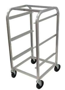 Advance Tabco Bc3 x 3 tier Bus Box Cart Aluminum With Casters