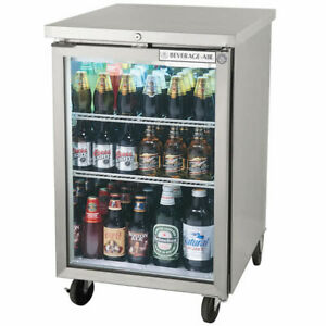 Beverage air Bb24hc 1 g s 24 Glass Door Refrigerated Back Bar Storage Cabinet
