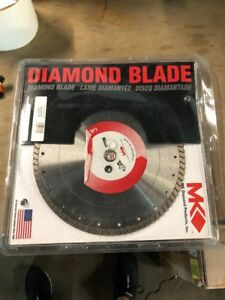 Mk Diamond Products 153578 Mk 915d Premium Grade Blade For Hard Materials 12