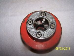 Ridgid 12 r 1 2 Ratchet Pipe Threader Die Head
