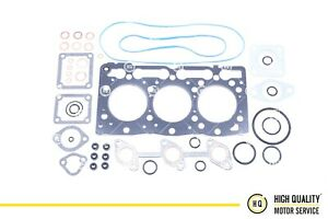 Full Gasket Set With Head Gasket Metal For Kubota 1g040 03310 D1005
