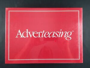 1988 ADVERTEASING BOARD GAME of Slogans Commercials & Jingles BRAND NEW SEALED $15.00