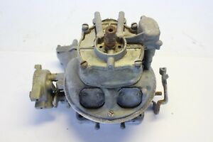 Holley 1161 Ford Thunderbird Teapot 4000 Carburetor Ecz 3510 4 Barrel