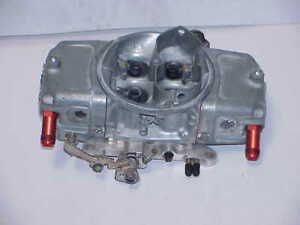 Demon 750 Cfm Aluminum Carburetor With Billet Baseplate Nhra Mudbog Barry Grant