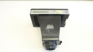 Vintage Wild Heerbrugg Polaroid Microscope Attachment Camera