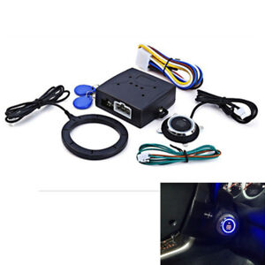 Universal Car Ignition Switch Engine Start Push Button Keyless Entry Starter Kit