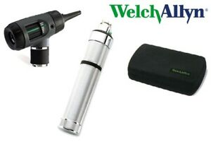 Welch Allyn 3 5v Macroview Otoscope With Rechargeable Handle 23810