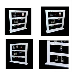 Earring Holder Stand High Grade Shiny Acrylic Material For Home Store Gallery