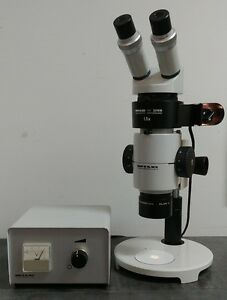 Wild Heerbrugg Microscope M8 With Incident Illuminator And Power Supply