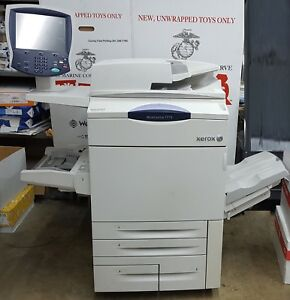 Xerox Workcentre 7775 Color Multifunction With Output Tray Low Meter 170