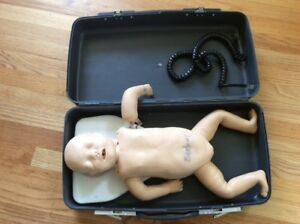Laerdal Acls Bls Heartcode Resusci Baby Cpr Infant Manikin First Aid Training