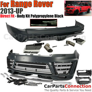 L405 Range Rover 2013 2017 Lm Style Front Rear Bumper Kit Led Fog Light Muffler